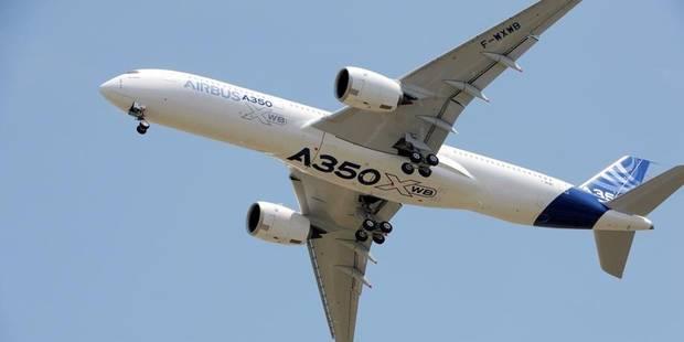 L'A350, c'est un milliard pour la Sabca ! - La Libre