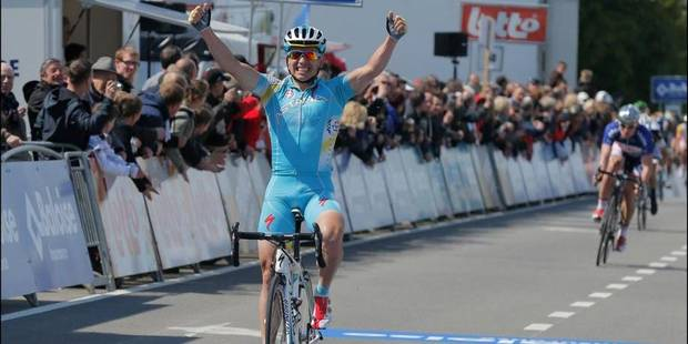 Tour de Belgique: victoire de Maxim Iglinskiy lors de la 4e étape - La Libre