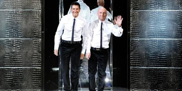 Les stylistes Dolce et Gabbana condamnés pour fraude fiscale - La Libre