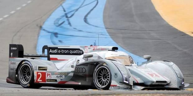 24h du Mans: victoire de l'Audi de Kristensen-McNish-Duval - La Libre