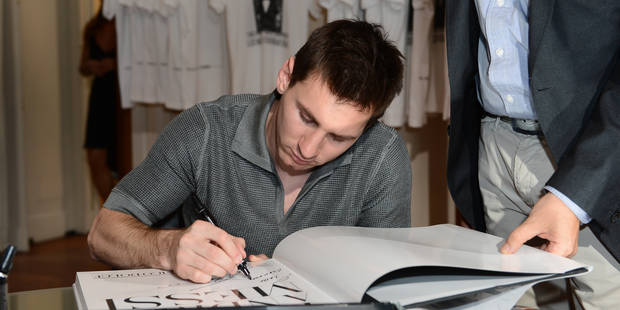 Lionel Messi n'a lu qu'un seul livre dans sa vie - La Libre