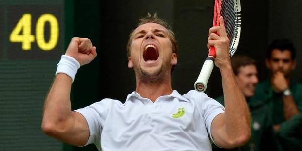 Wimbledon: Darcis élimine Rafael Nadal ! - La Libre