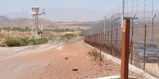 Israël: une barrière high tech de 90 km avec la Syrie - La Libre
