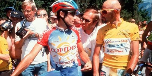 1998 plane sur le centième Tour de France - La Libre
