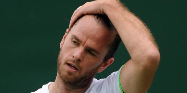 Wimbledon: Malisse et Flipkens éliminés en double - La Libre
