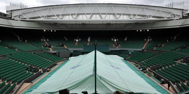 Pourquoi ne joue-t-on pas le premier dimanche de Wimbledon? - La Libre