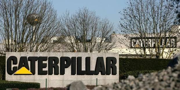 Caterpillar: Les travailleurs bloquent le site - La Libre