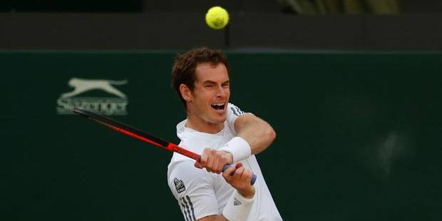 Wimbledon: Andy Murray qualifié pour les demi-finales - La Libre