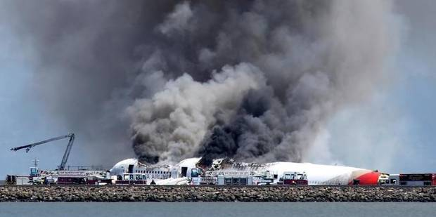Deux morts et 182 blessés dans le crash du vol Asiana 214 à San Francisco - La Libre