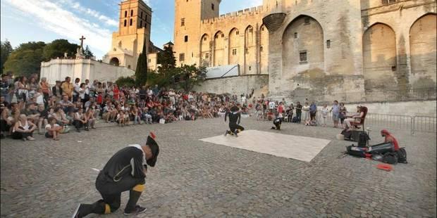 Le Festival d'Avignon peut faire la fête - La Libre