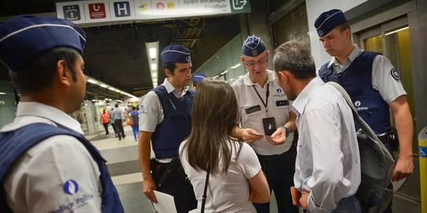 60 aspirants policiers à l'assaut des incivilités - La Libre