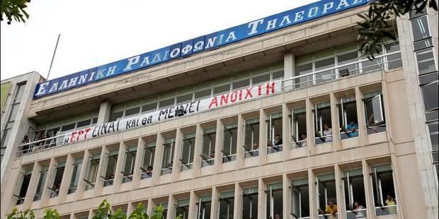 Grèce: la télévision publique ERT émet de nouveau un signal - La Libre
