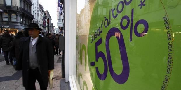Chômeurs en solde rue Neuve! - La Libre