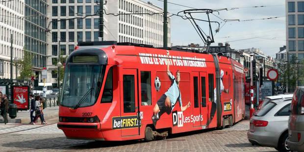 La ligne 71 passe du bus au tram - La Libre