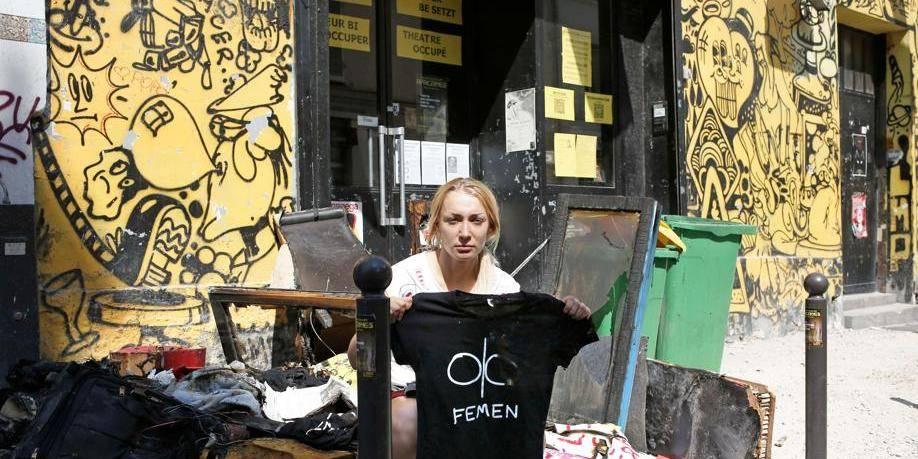 Les locaux des Femen ravagés par un incendie à Paris