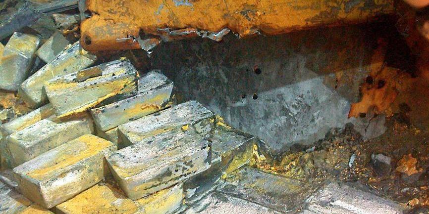 Plus de 1.500 lingots d'argent datant de 1941 remontés du fond de la mer