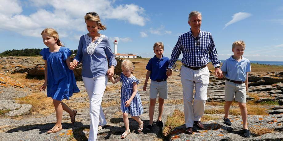 La famille royale part en vacances en France