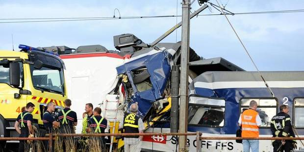 Collision de trains en Suisse: aucune explication avancée - La Libre
