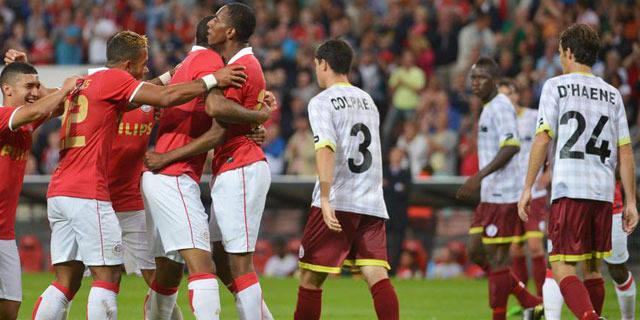 Zulte Waregem impuissant face au PSV (2-0)