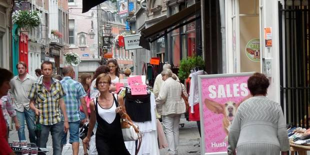 Bilan positif pour les soldes malgré la crise - La Libre