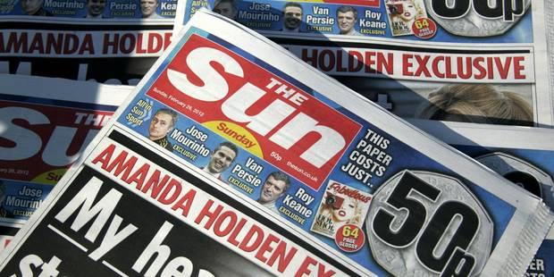 La version en ligne du Sun désormais payante - La Libre