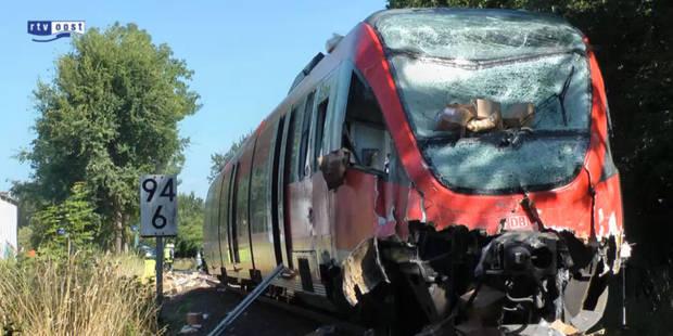 Allemagne: 17 blessés dans un accident de train - La Libre