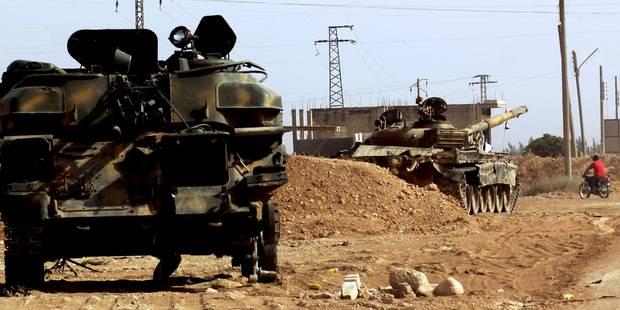 Au moins 62 rebelles tués dans une embuscade à Damas - La Libre