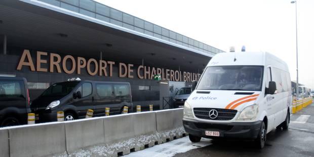 Plus de policiers à l'aéroport de Charleroi - La Libre