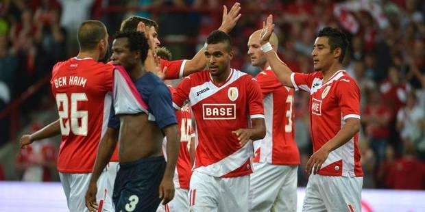 Le Standard qualifié pour les barrages de l'Europa League (2-1) - La Libre