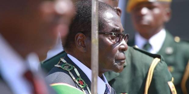 """Mugabe à ses opposants: """"Allez vous faire pendre"""" - La Libre"""