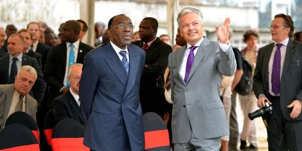 Didier Reynders lance la construction de la nouvelle ambassade de Belgique à Kinshasa - La Libre