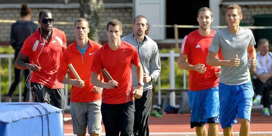 Mondiaux d'athlétisme: le relais 4x400 m belge dans la même série que les Etats-Unis