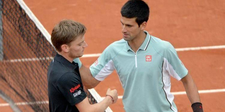 Cincinnati: David Goffin éliminé par Novak Djokovic en 8e de finale