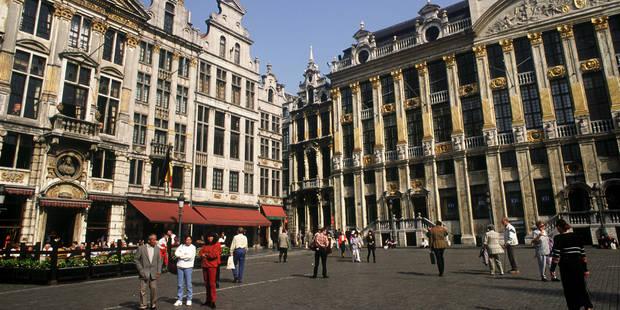La marche est le premier mode de déplacement à Bruxelles - La Libre