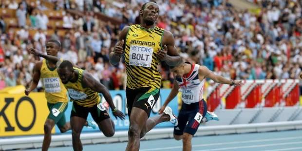 Mondiaux: Bolt s'adjuge aussi le 200m - La Libre