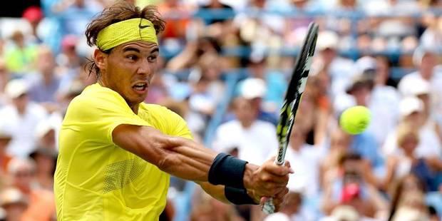 Rafael Nadal s'empare de la 2e place - La Libre