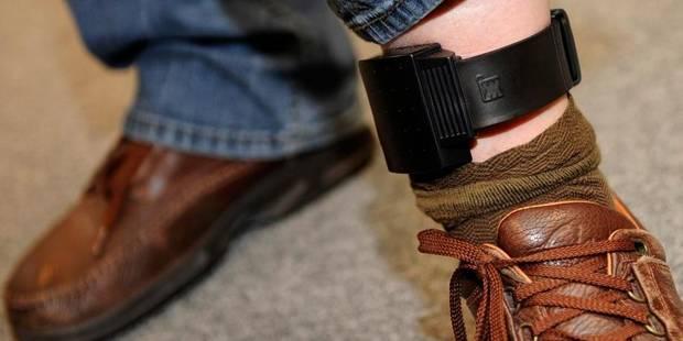 4.500 peines devraient être exécutées sous surveillance électronique en 2013 - La Libre