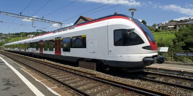 Un train déraille en Suisse, pas de blessés - La Libre
