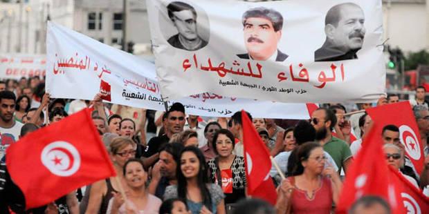 Tunisie: des milliers de manifestants réclament la démission du gouvernement - La Libre