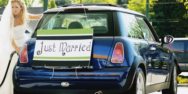 Deux invités au mariage volent la voiture de... la mariée - La Libre