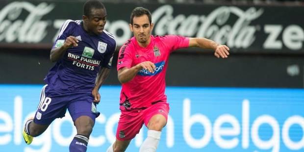 Pluie de buts entre Anderlecht et Charleroi (5-2) - La Libre