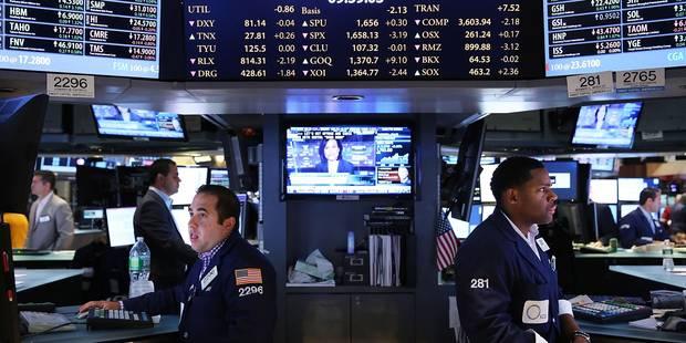 Les bourses mondiales en baisse, inquiètes d'éventuelles frappes contre la Syrie - La Libre