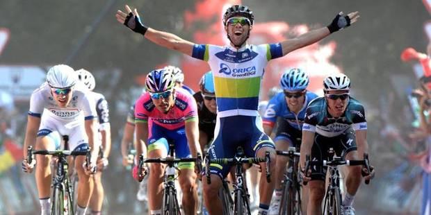 Vuelta: l'Australien Matthews s'adjuge la 5e étape, Meersman sur le podium - La Libre