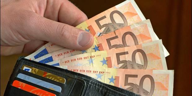 3.192 euros brut par mois, ce que gagnent les Belges