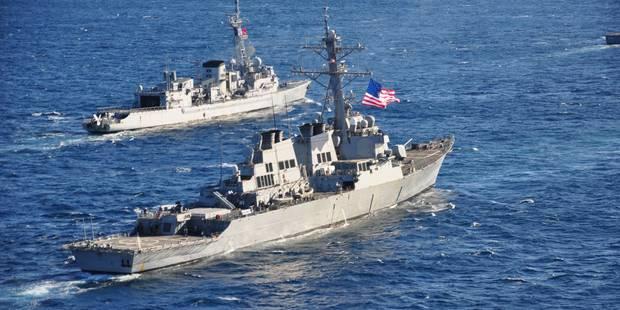 Syrie: un navire de transport amphibie américain en Méditerranée - La Libre
