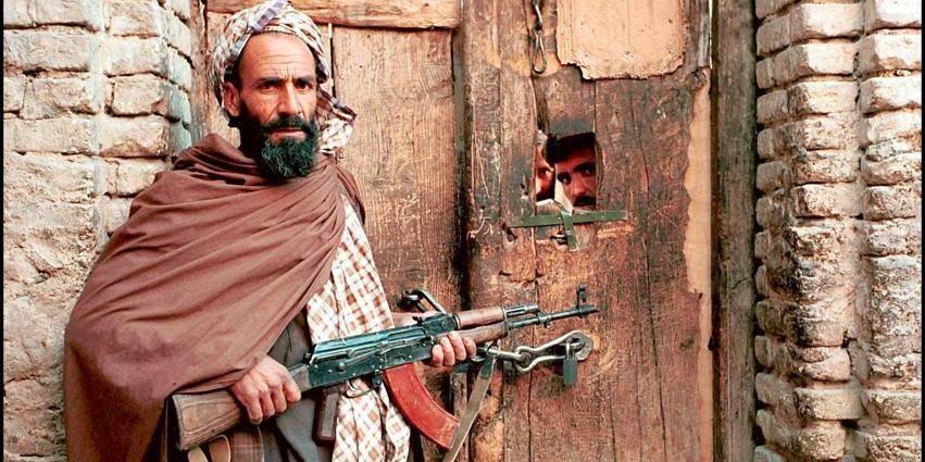 11/23/2001. Taleban prisoners in Herat.
