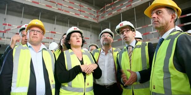 Prison de Leuze-en-Hainaut: le chantier avance - La Libre