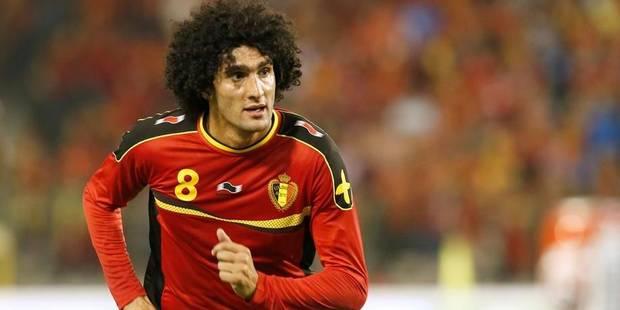 Le transfert de Fellaini à ManU rapporte 2,5 millions d'euros au Standard - La Libre
