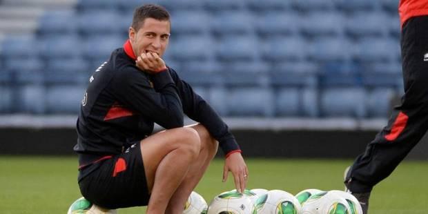 Eden Hazard quitte l'entraînement des Diables à Hampden Park - La Libre