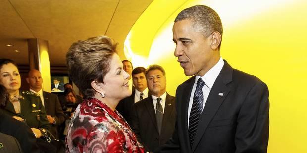 Obama a vu Rousseff en tête-à-tête en marge du G20 - La Libre